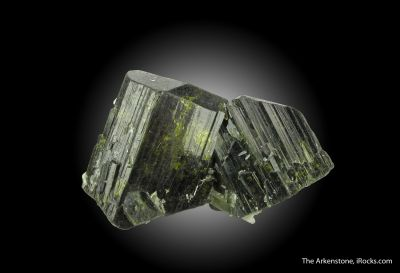 Epidote (DT) with Quartz (DT)