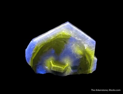 Fluorapatite (with phantoms and fluorescence)
