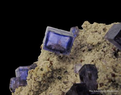 Fluorite and Sphalerite