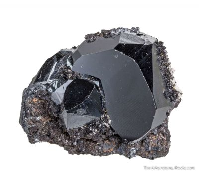 Hematite with Hausmannite