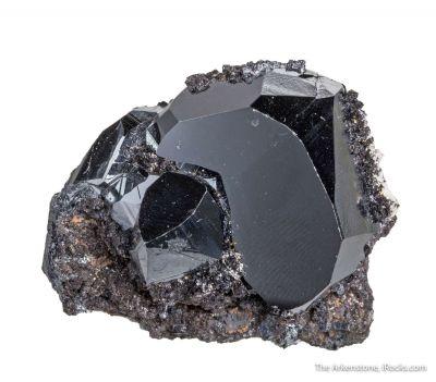 Hematite with Hausmannite