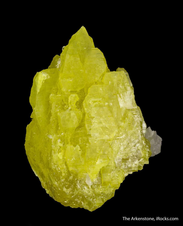 "Sulfur 5 1/2"" x 1 1/2"" - Celestial Earth Minerals |Sulfur Mineral"