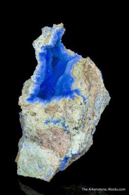Cyanotrichite pocket