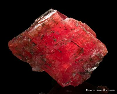 Rhodochrosite with Quartz
