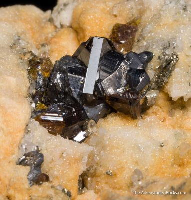Jordanite and Sphalerite