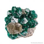 Dioptase and Cerussite
