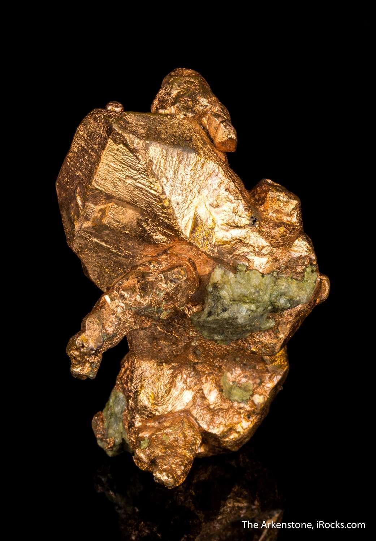 Auctions In Michigan >> Copper - MUN16B-35 - Copper District - USA Mineral Specimen