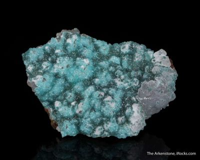 Adamite (Cuprian and REE-enriched)