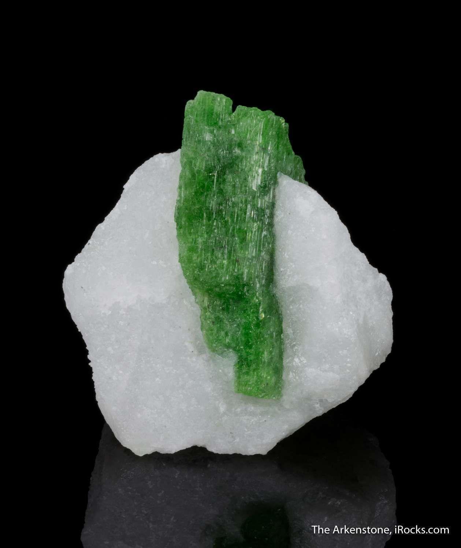 Pargasite in Marble - MUN16-12 - Luc Yen - Vietnam Mineral Specimen