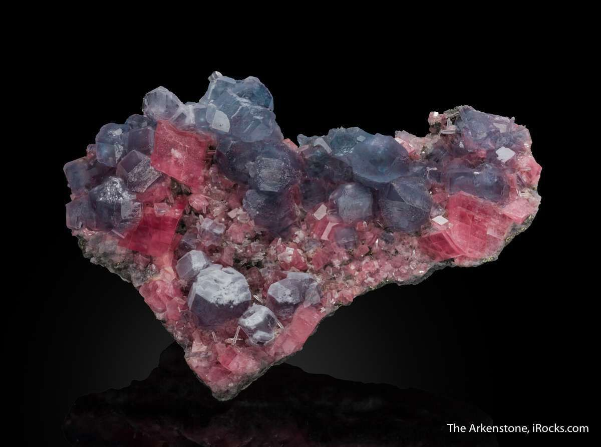 Fluorite and Rhodochrosite