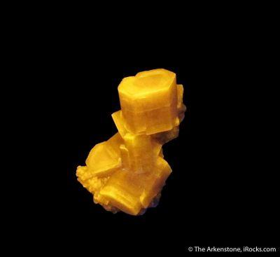 Fluorapatite (fluorescent)
