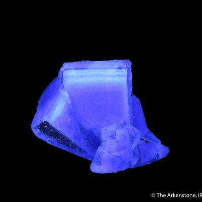 Fluorite with Quartz (fluorescent)