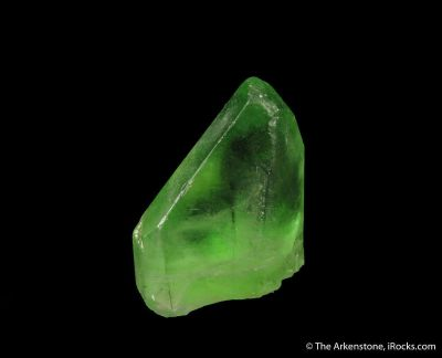Peridot included by Ludwigite