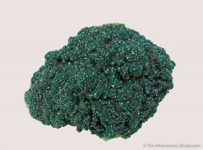 Dioptase on Conichalcite (?)