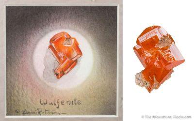 Wulfenite