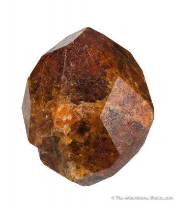 Garnet var. Spessartine (2 pound crystal!)