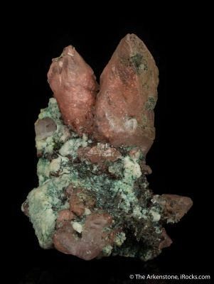 Copper included in Calcite