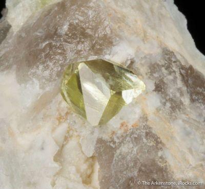 Rhodizite (gem crystal)