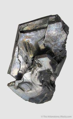 Galena (Gonderbach twinned) - found 1871