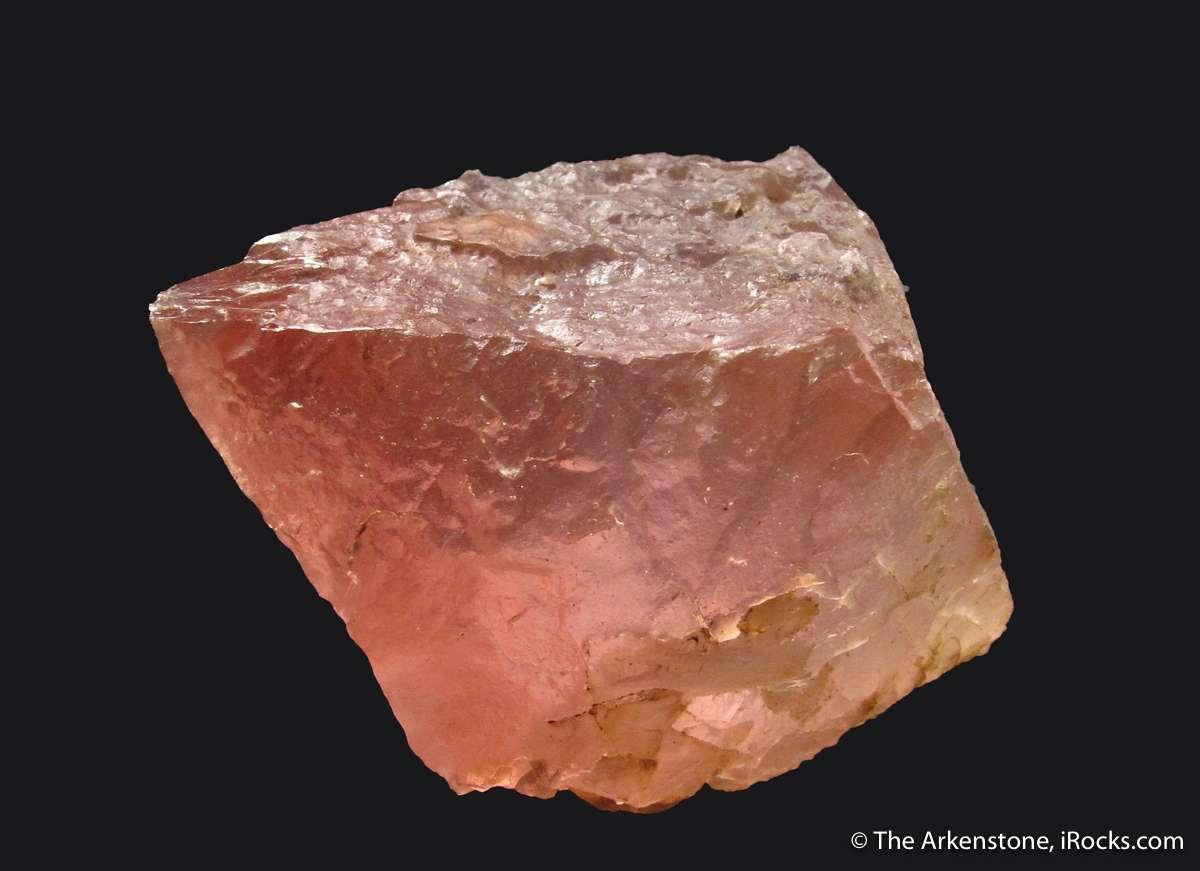 Chlorite Mont Blanc Massif 40.0 ct Pink Fluorite France.