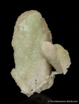 Smithsonite ps. after Azurite