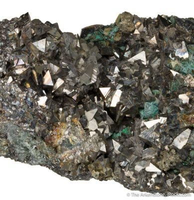Arsenopyrite and Chalcopyrite