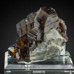 Axinite var. Ferroan