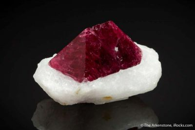 Spinel in Marble