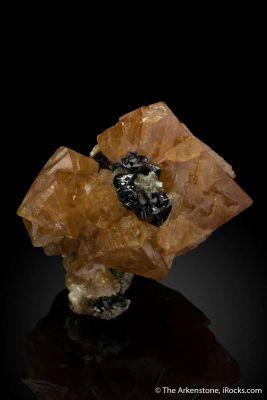 Scheelite with Cassiterite