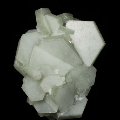 Calcite included by Hedenbergite