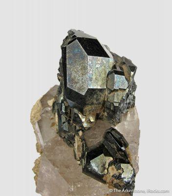 Cavernous Hematite on Quartz