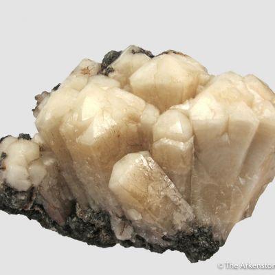 Plumboan Aragonite var. Tarnowitzite (fl)