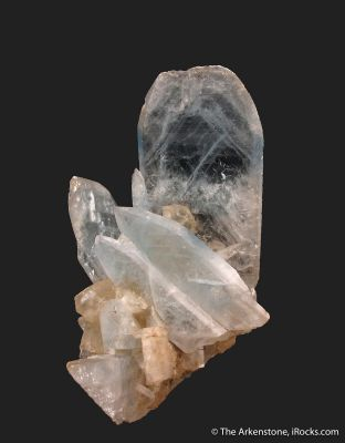 Celestine and Calcite