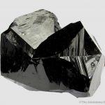 Cassiterite (twinned)