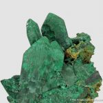 Malachite pseudo.  after  Azurite