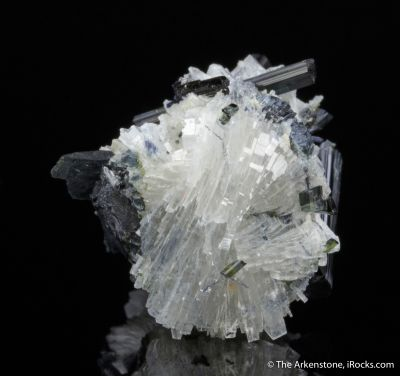 Bertrandite with Tourmaline