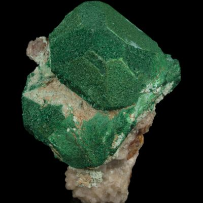 Malachite coating Cuprite