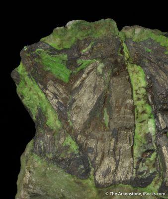 Millerite, Gaspeite, Annabergite