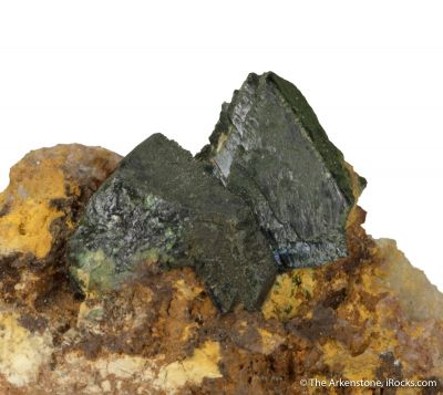 Libethenite ex. Roebling Coll.