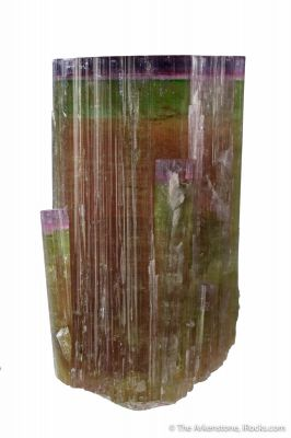 Tourmaline var. Elbaite Purple Cap