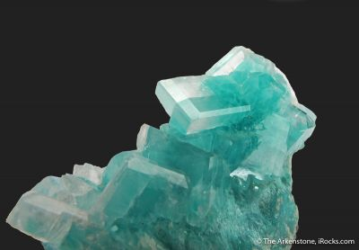 Calcite with Aurichalcite inclusions