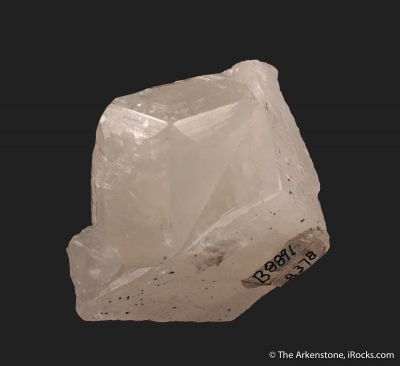 Calcite (fluorescent and twinned)