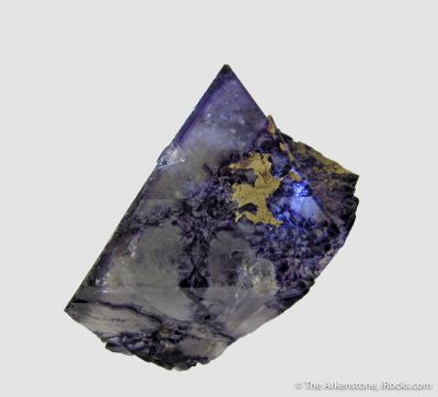 Fluorite (fluorescent)  - circa early 1900s