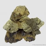 Chalcopyrite with Galena and Siderite