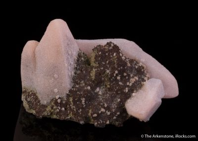 Rhodochrosite ps. Calcite