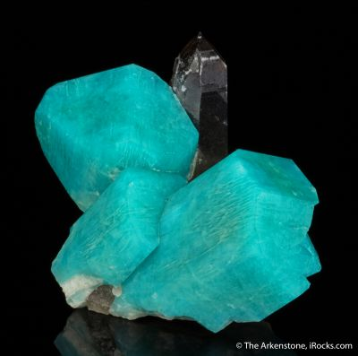 Amazonite, Smoky Quartz