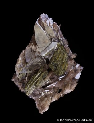Ferroaxinite with Epidote