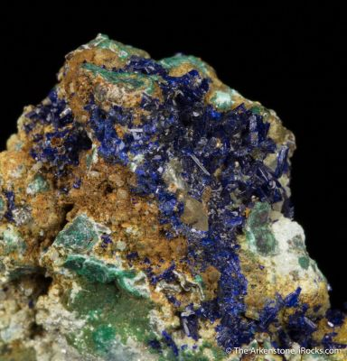 Otavite with Azurite