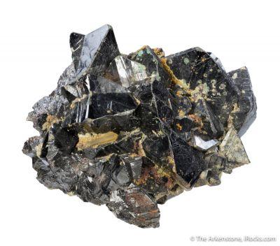 Cassiterite (classic locale, gorgeous labels)