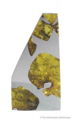 Fukang Meteorite (with Peridot)